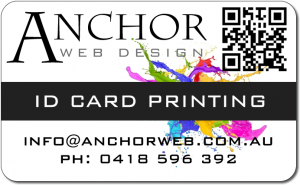 anchor id printing card