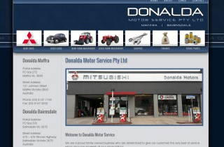 Donalda Motors in Maffra