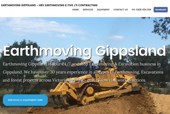 earthmoving site